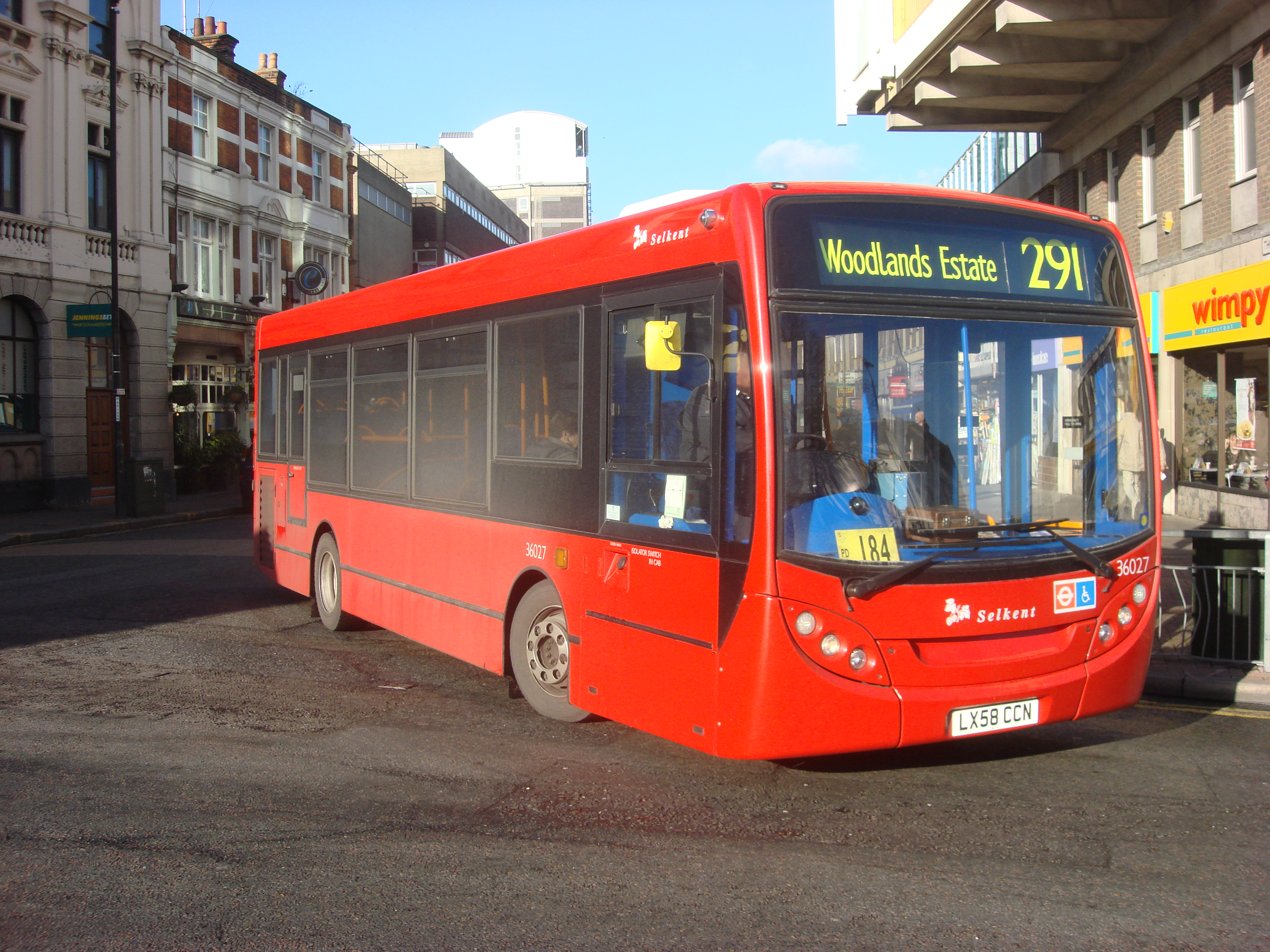 File:London Bus route 291.jpg