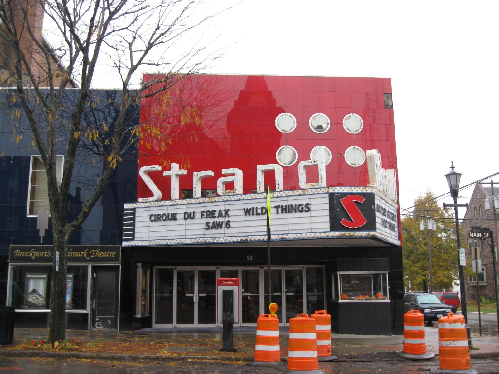 File:Main Street Historic District Brockport NY Strand Theater Octbrockport village