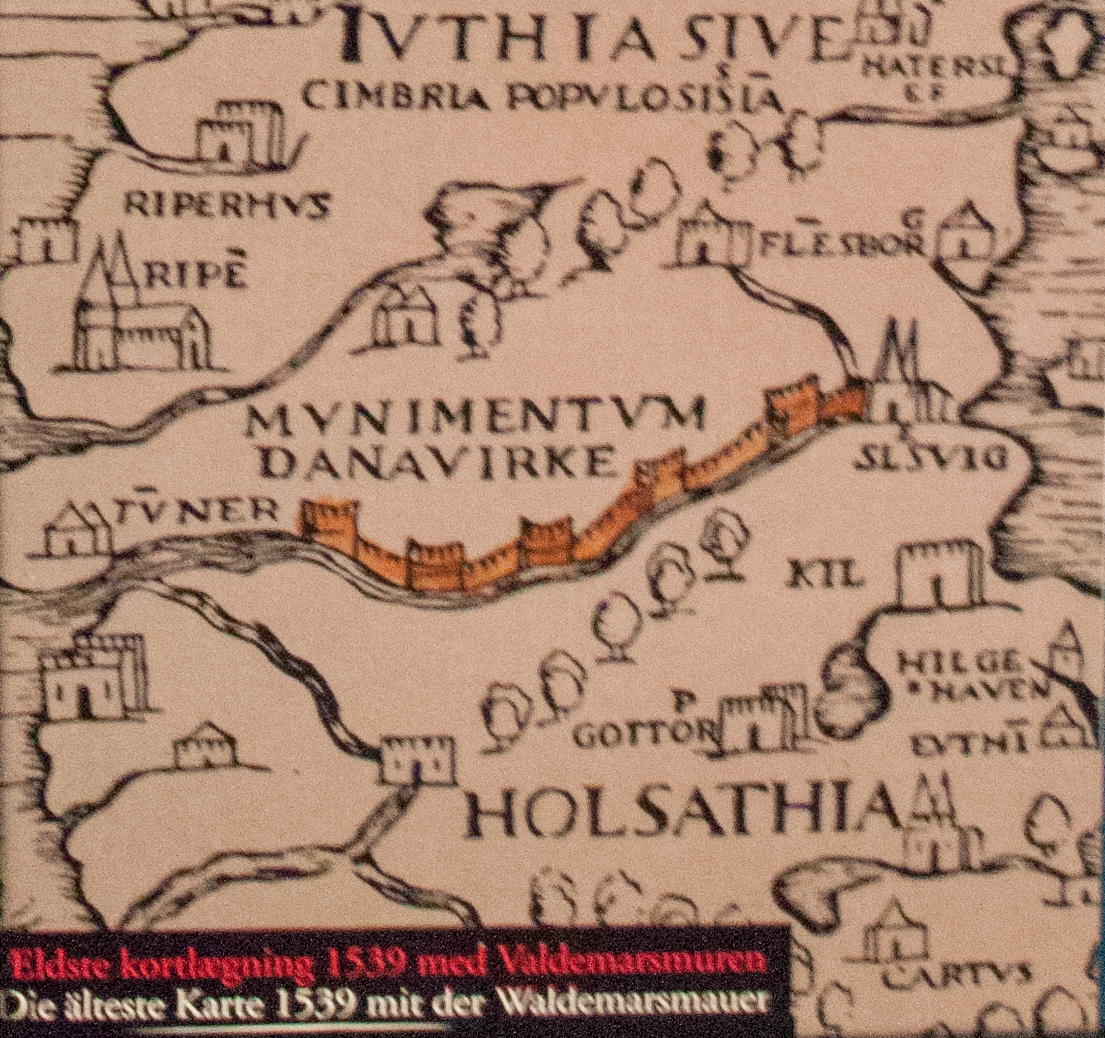 File:Map with the Danevirke from 1539.jpg