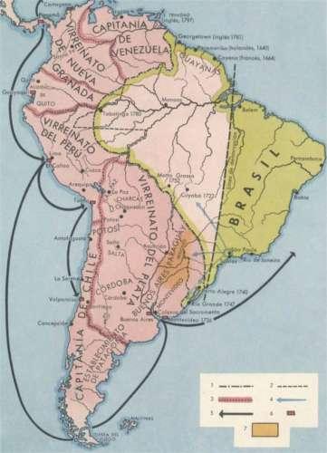 File:Mapa del América del Sur con el Virreinato del Perú desde 1776 ...