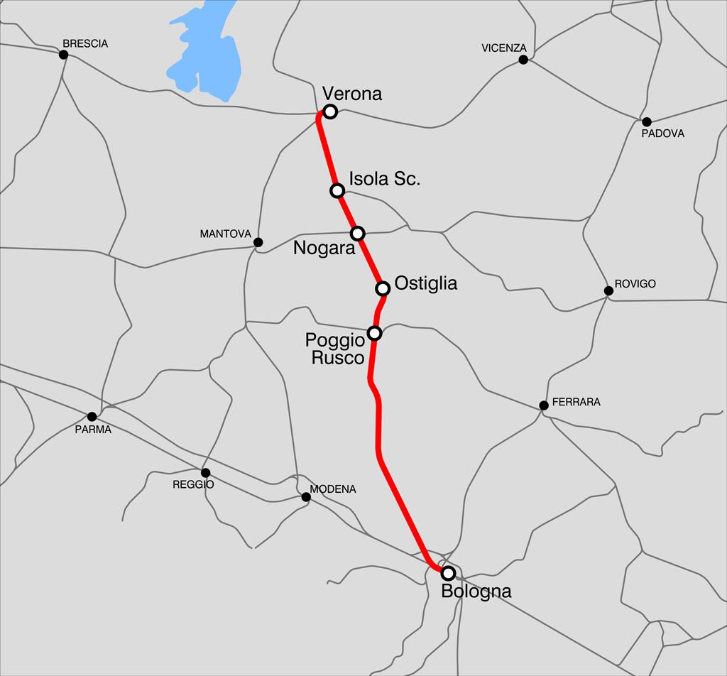 VeronaBologna railway Wikipedia