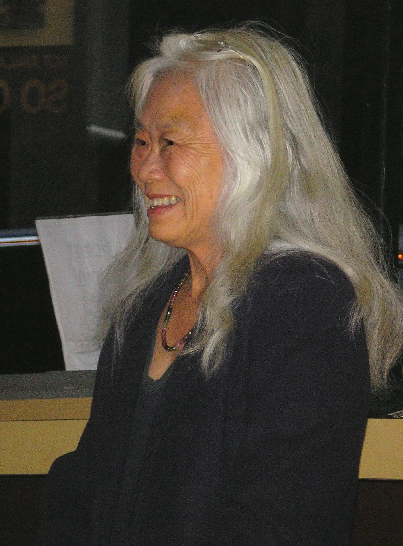 Portrait of Maxine Hong Kingston
