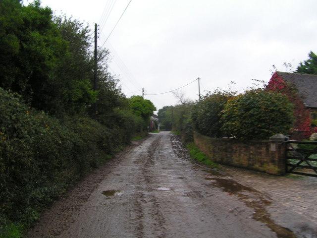 Melancholy Lane, Stoborough Anybody any idea how it got this name?