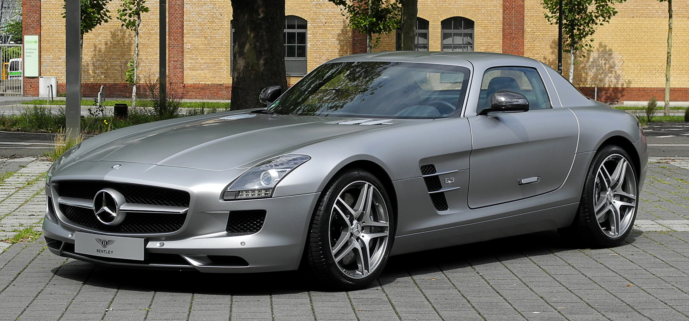 file mercedes benz sls amg c 197 frontansicht 2 10. Black Bedroom Furniture Sets. Home Design Ideas