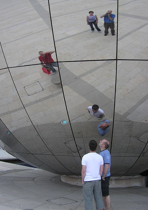 Curved mirror wikipedia for Types of mirrors around the house