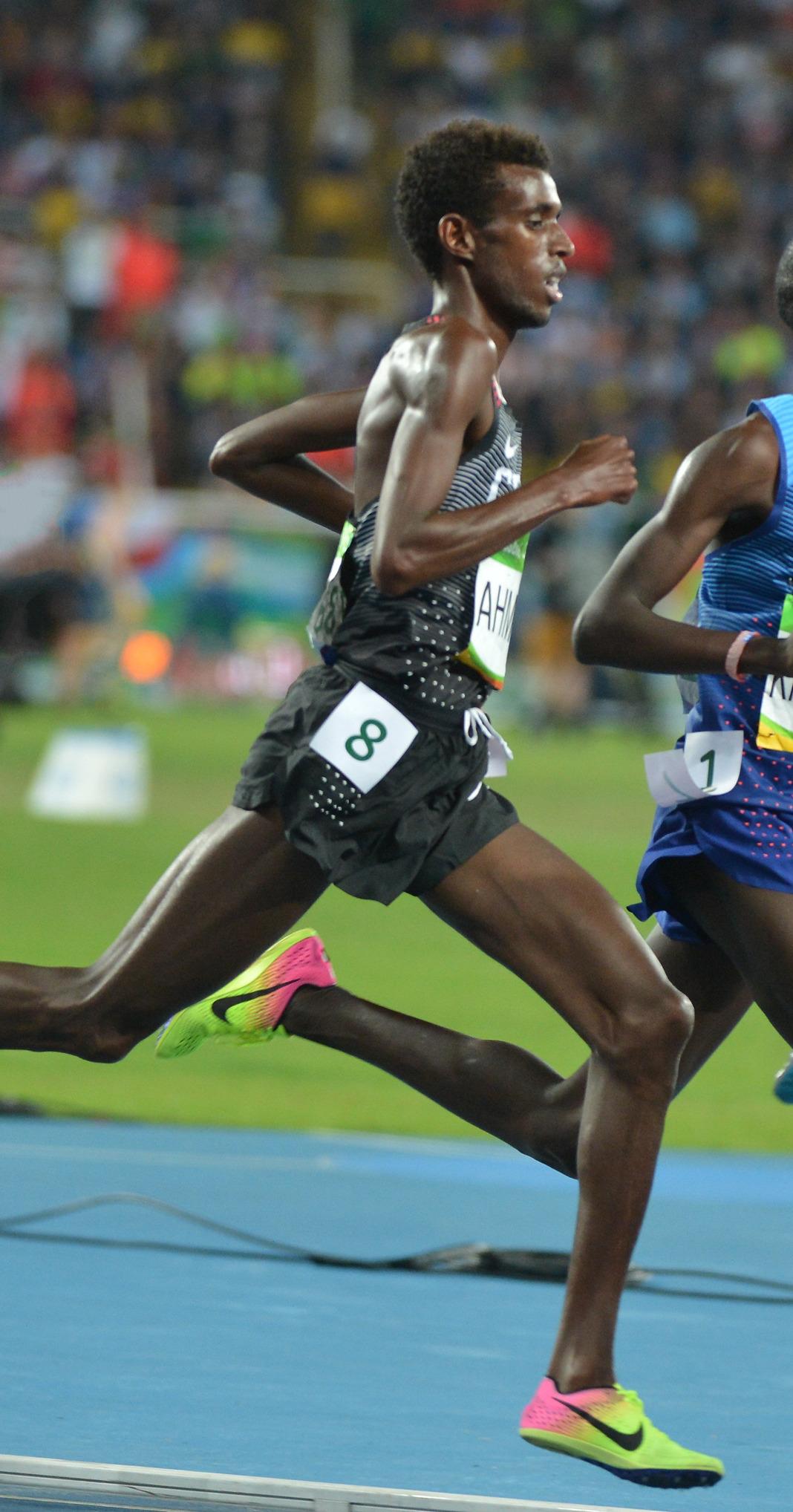 mohammed ahmed runner wikipedia