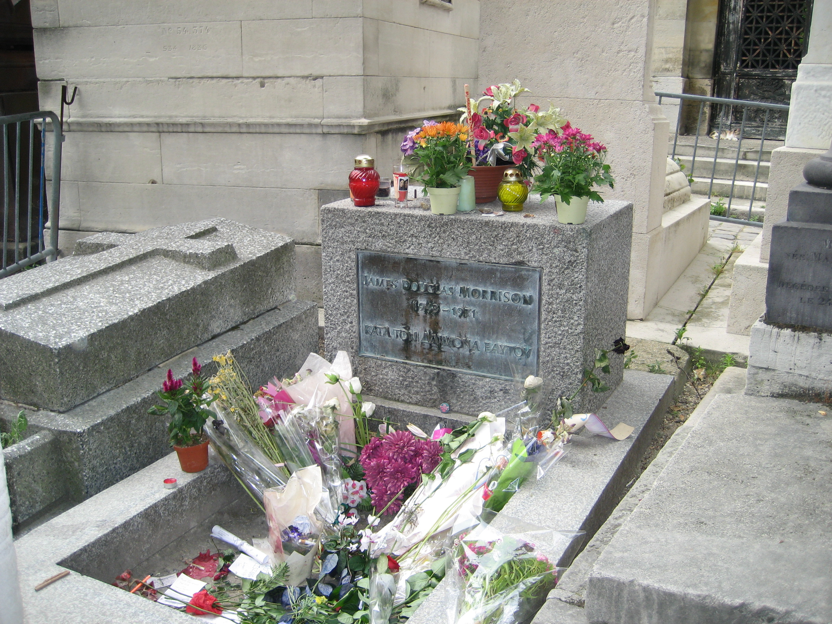 Image result for Jim Morrison Grave