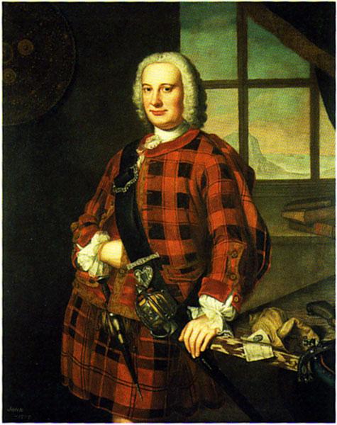 Mosman; John Campbell 1749