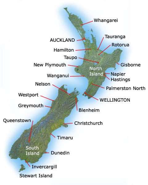 Map Of North Island New Zealand Towns.File New Zealand Towns And Cities Jpg Wikimedia Commons