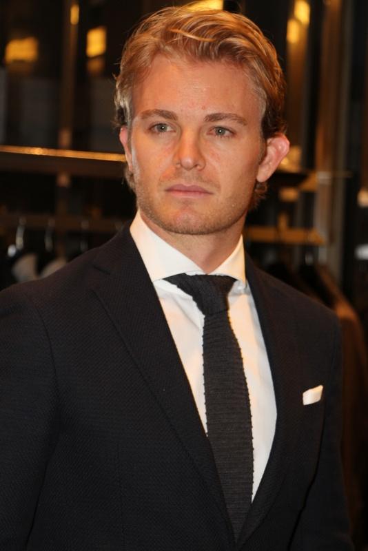 36-år gammel 178 cm høy Nico Rosberg i 2021