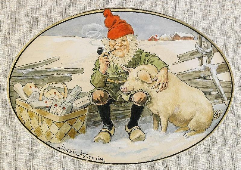 Święty Mikołaj w Szwecji