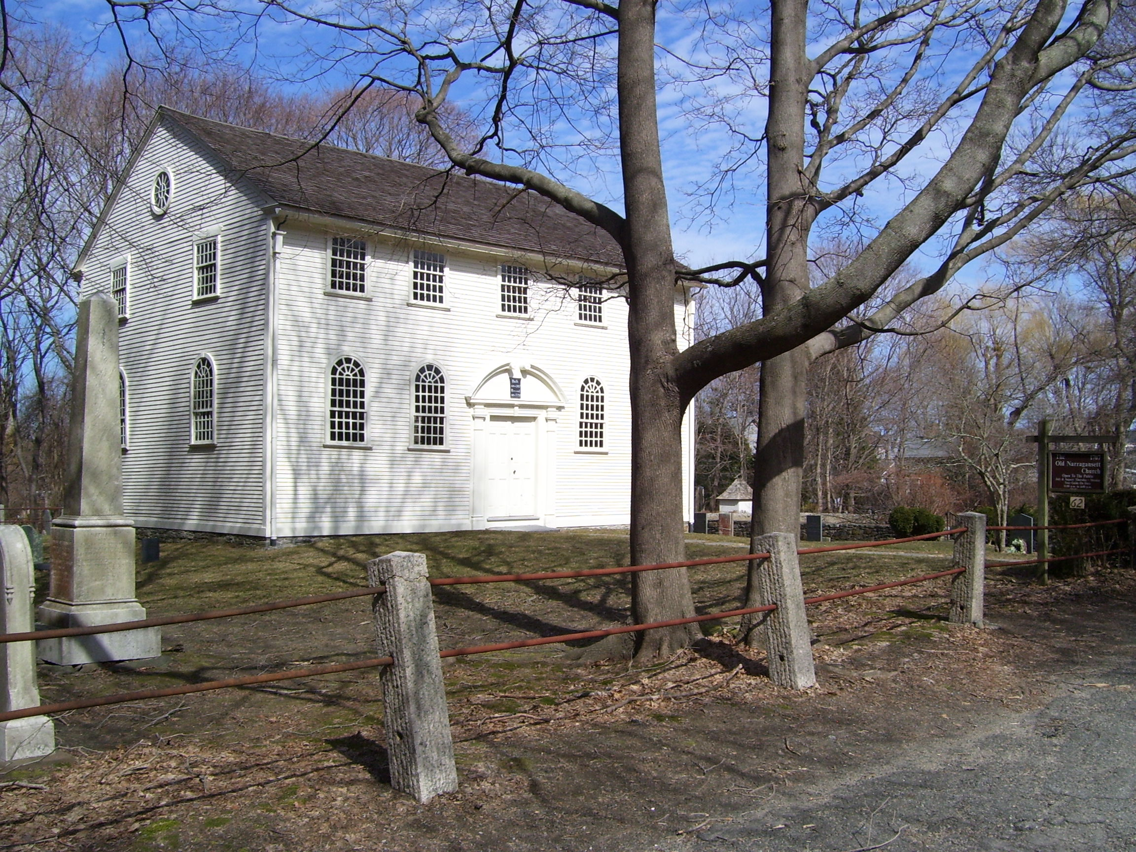 Superior Churches In Rhode Island #1: Old_Narragansett_Church_Episcopal_in_Wickford_Rhode_Island.jpg