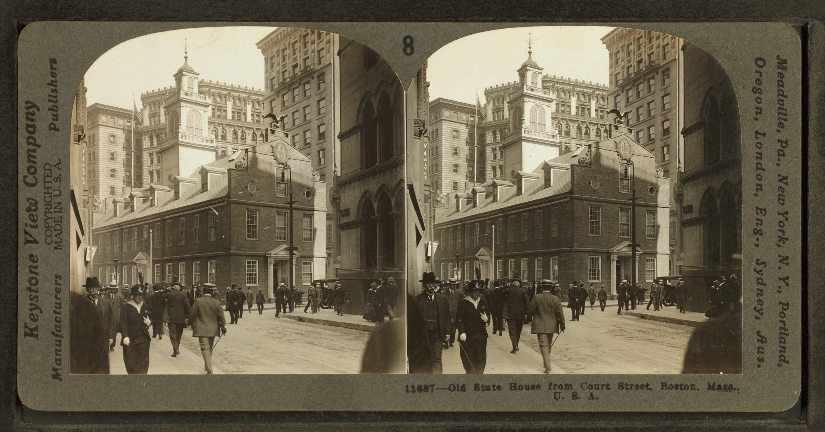 File:Old State House, from Court Street, Boston, Mass