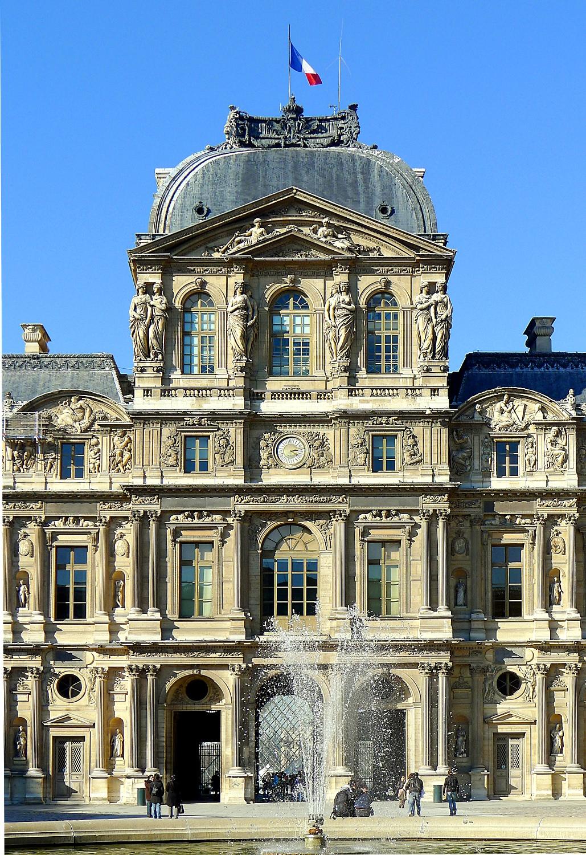 Palais du louvre wikip dia - Les jardins du louvre ...