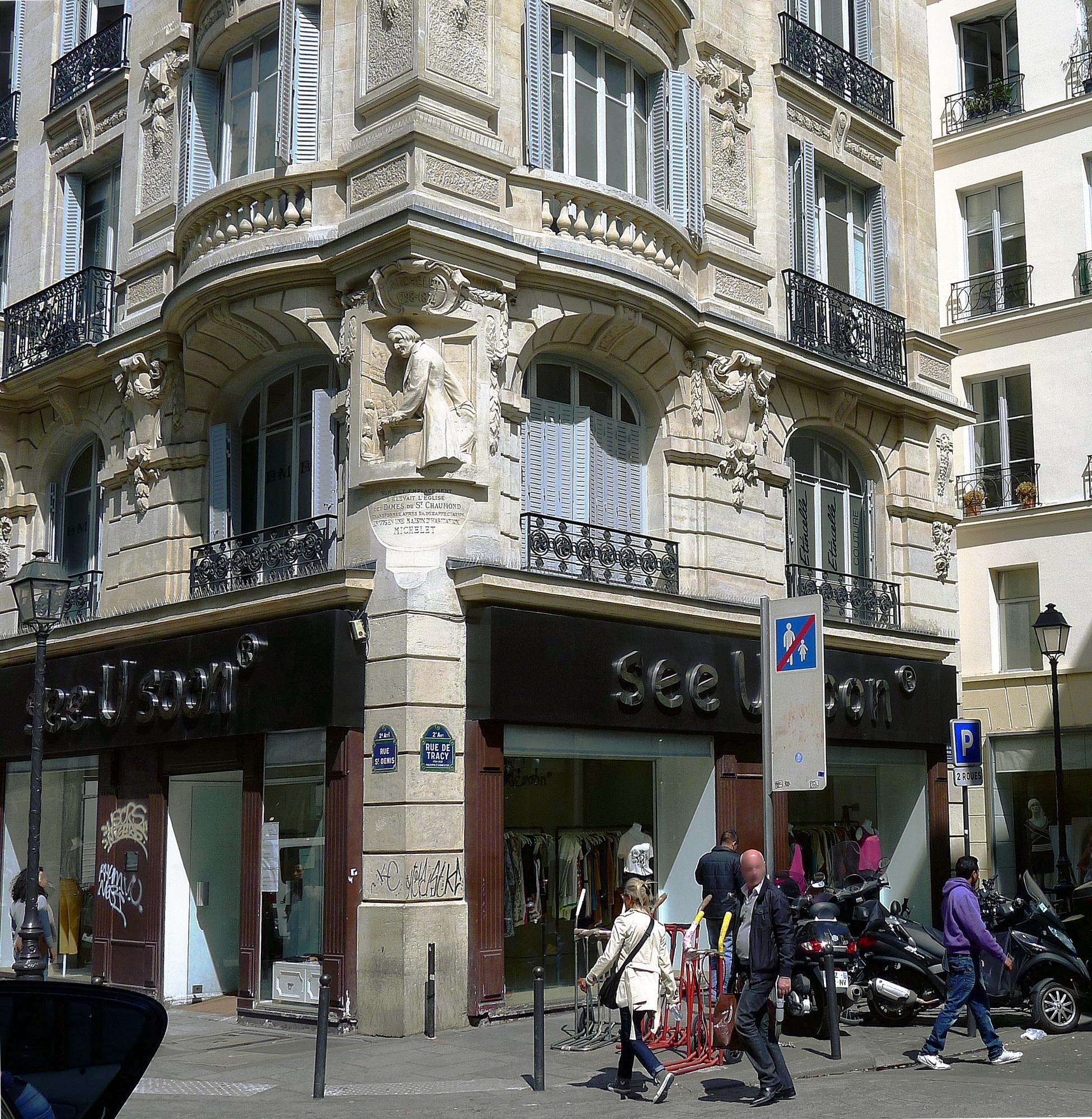 File p1100952 paris ii rue saint denis n 224 ancienne for Ancienne maison des gardes lourmarin