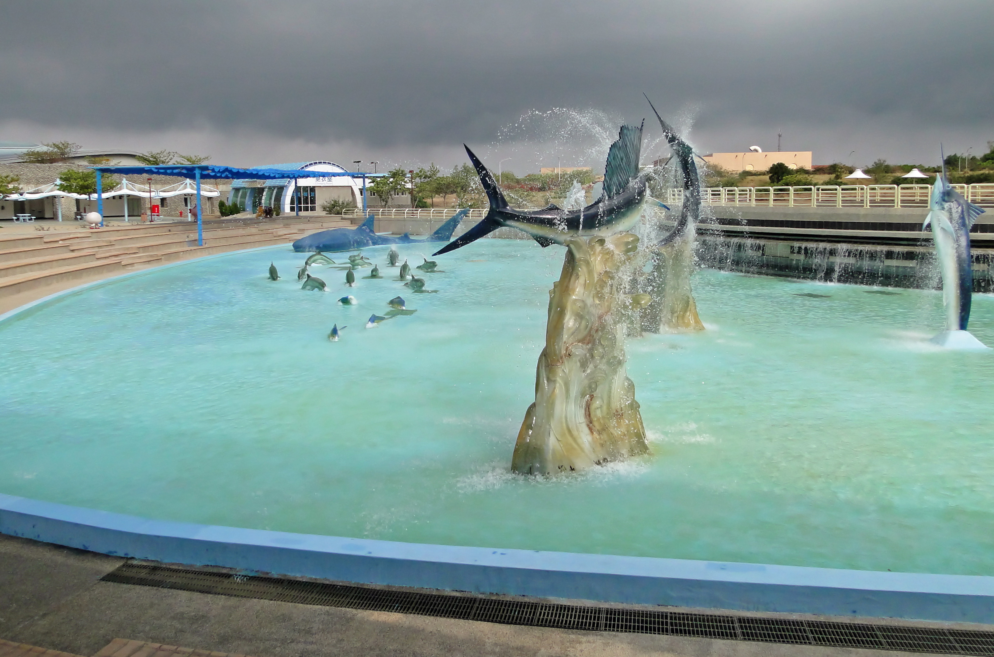 File:Pacific Dabbling Plaza, National Museum of Marine Biology and ...