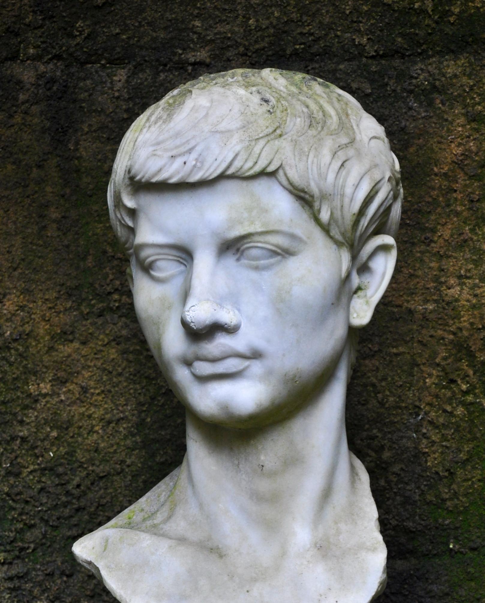 Depiction of Virgilio