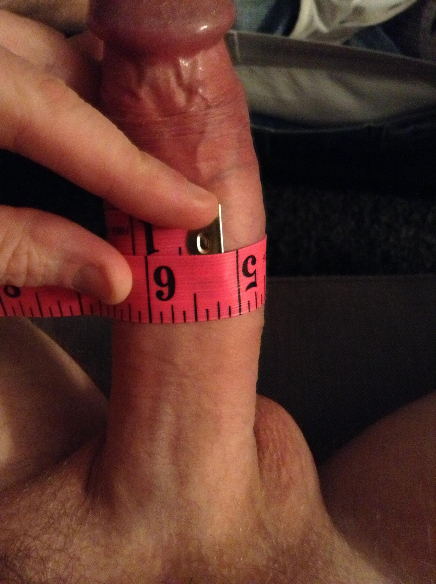 Girth size penis average
