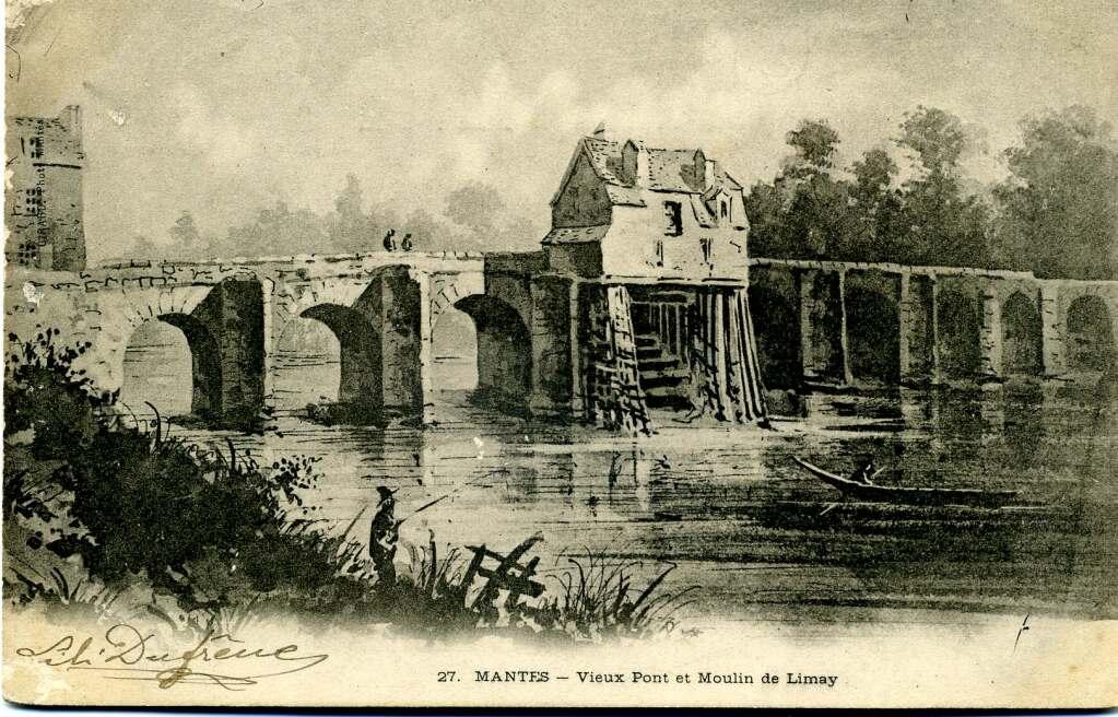 Image result for roues à aubes médieval po,nt