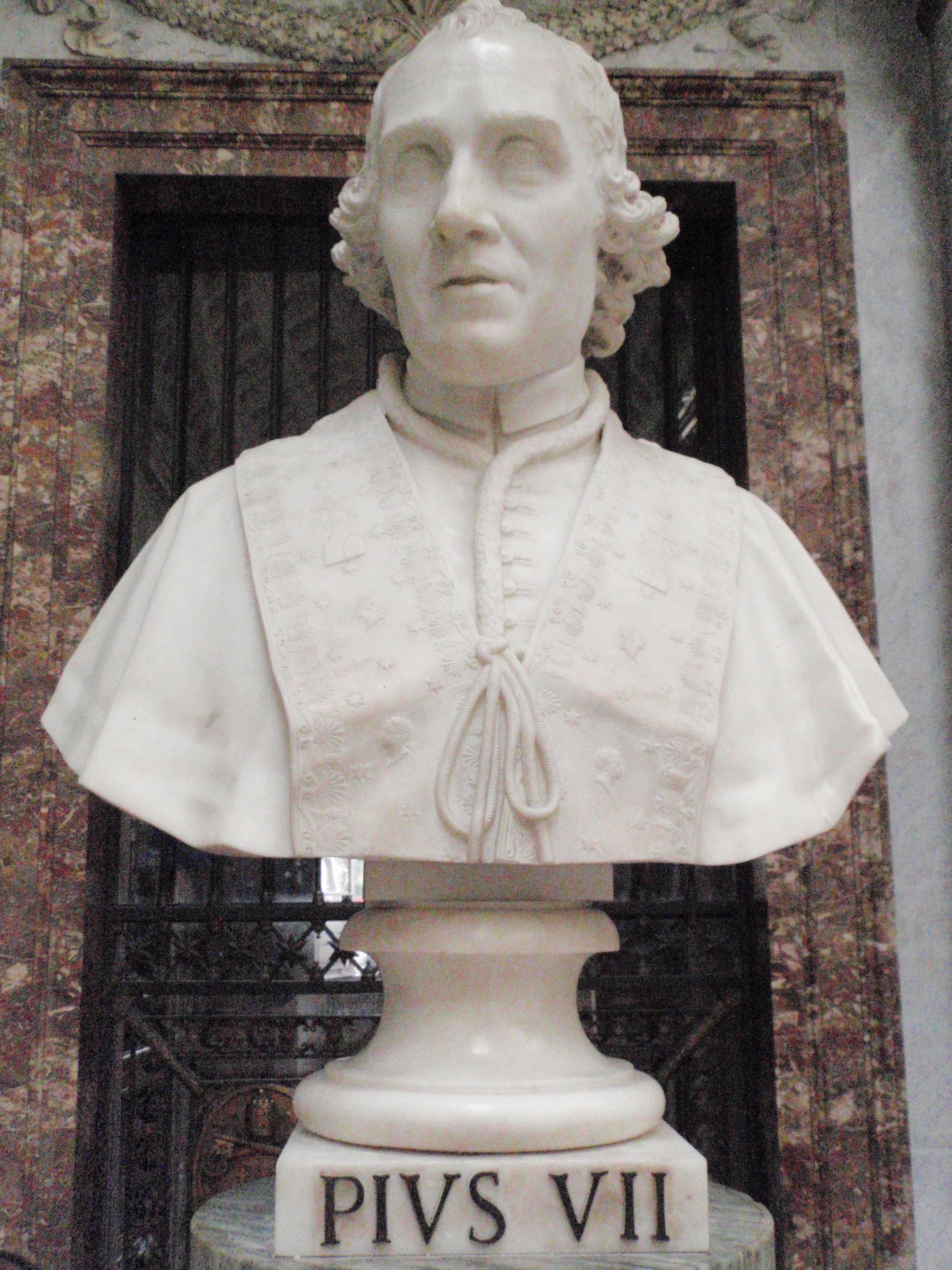 File Pope Pius Vii Statue Jpg
