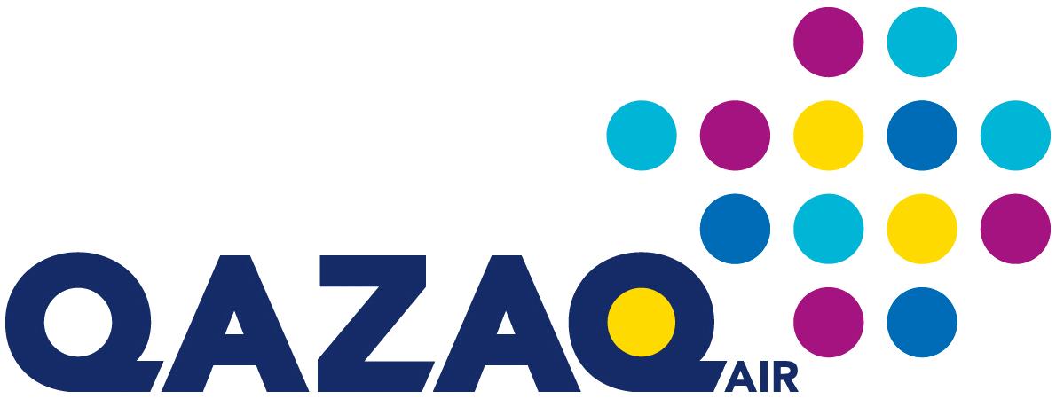 Resultado de imagen para qazaq air logo