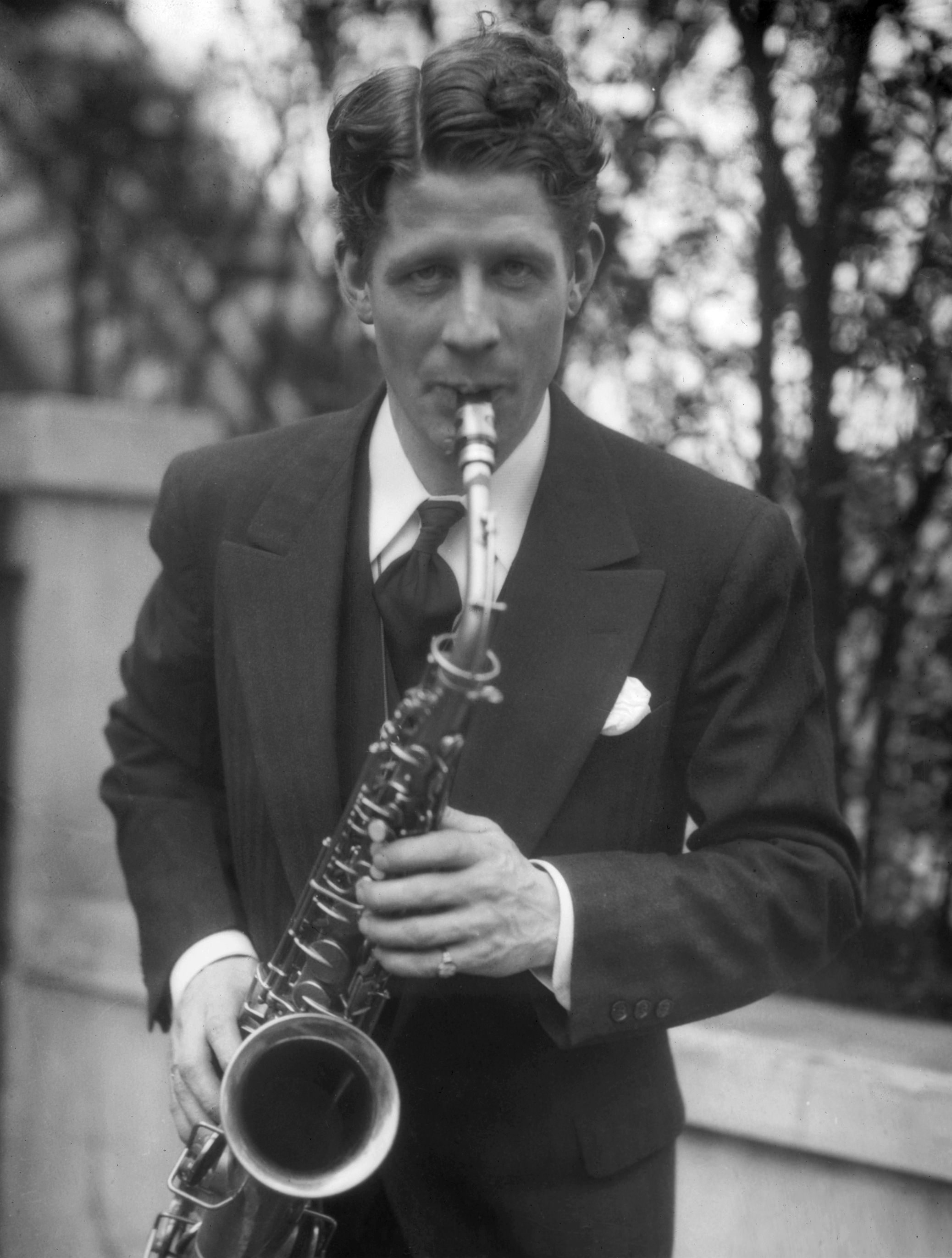 Photograph of Rudy Vallee