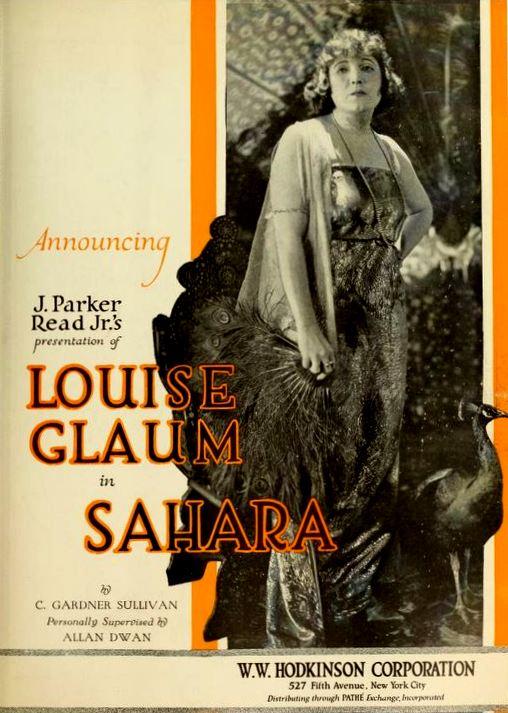 sahara  1919 film