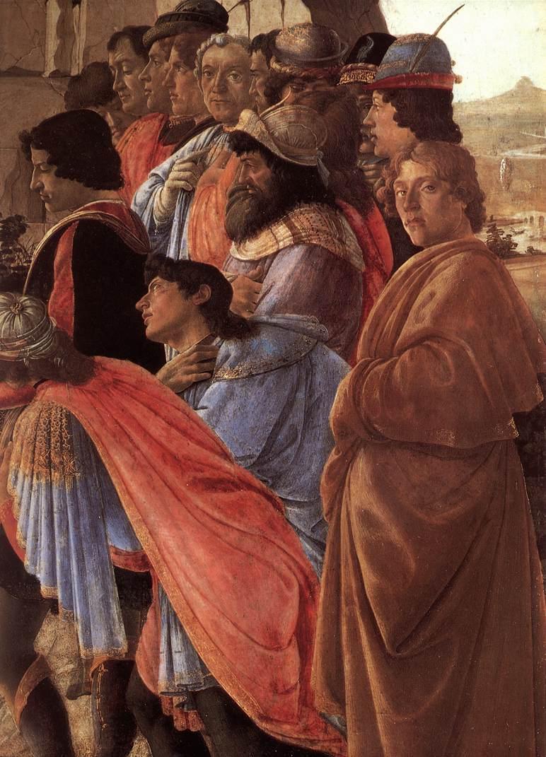 the adoration of the magi botticelli