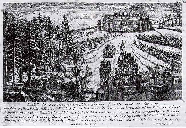 Lieux de naissance et de mort des Rois de France Schloss_Karlsberg_Franzosen