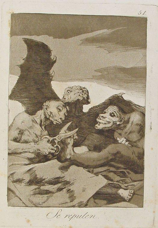 Los caprichos de Goya Se_repulen
