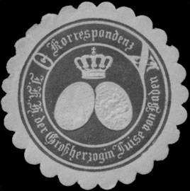 File:Siegelmarke Korrespondenz Ihrer K. Hoheit der Grossherzogin Luise von Baden W0350218.jpg
