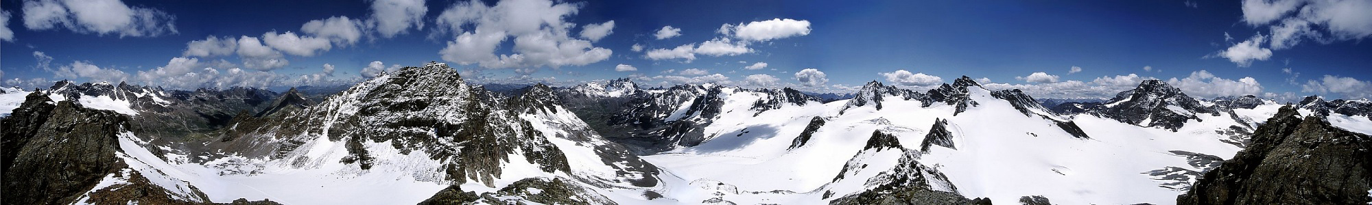 Silvretta panorama from the Ochsenkopf