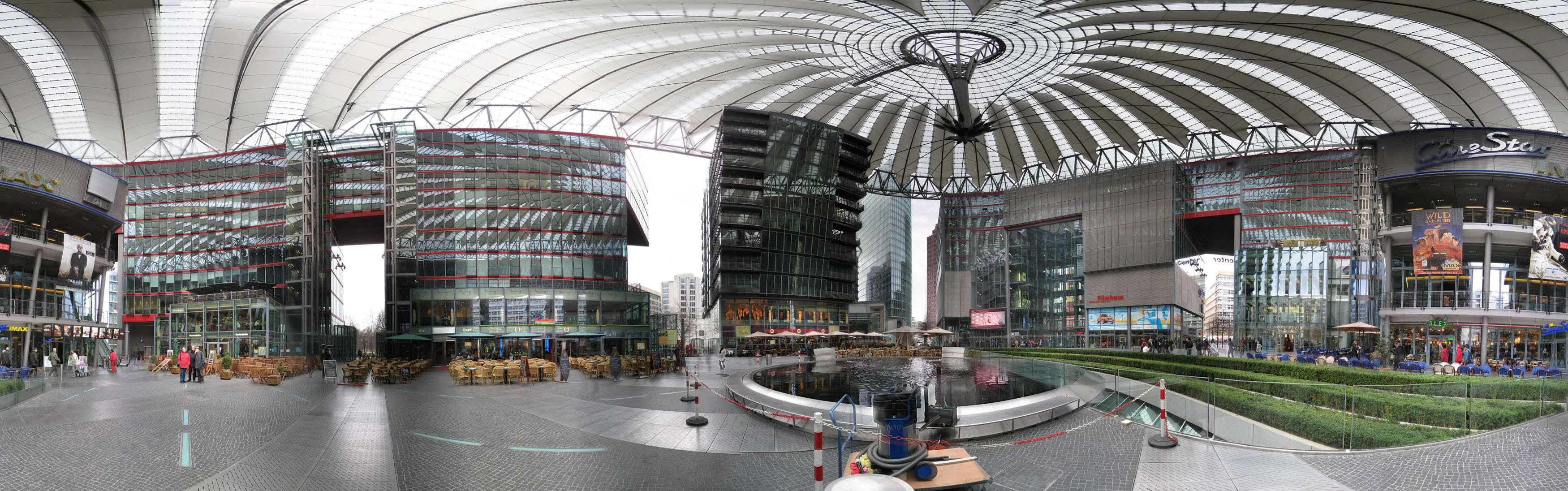 sony center 360 panorama photo
