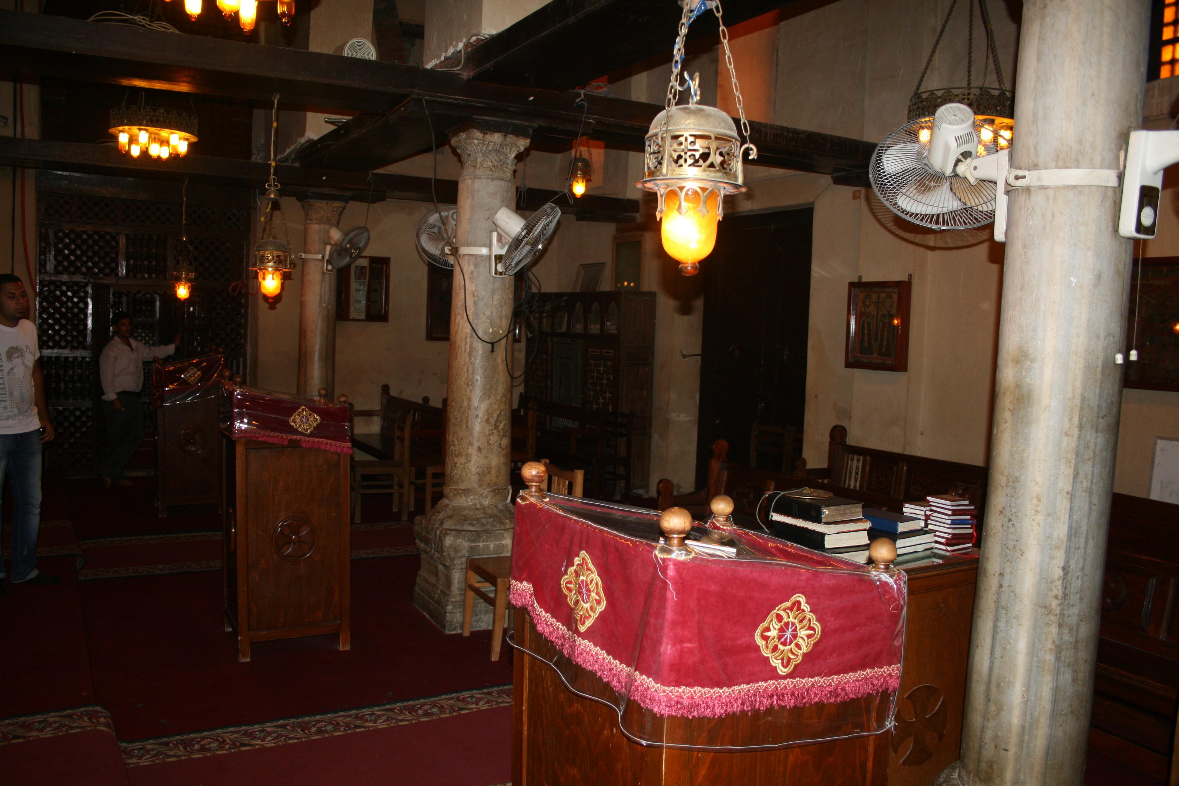 Coptic Church Egypt Cairo Coptic Church Old Cairo