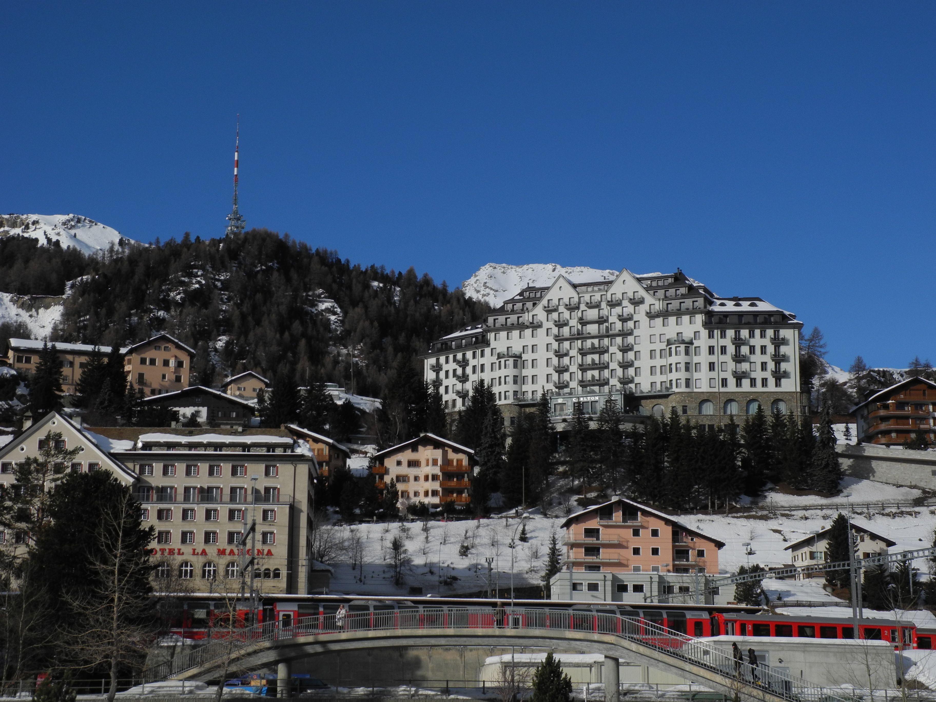 Hotels St Moritz Schweiz