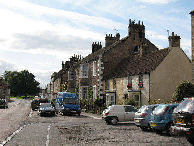 Staindrop main street. - geograph.org.uk - 528224
