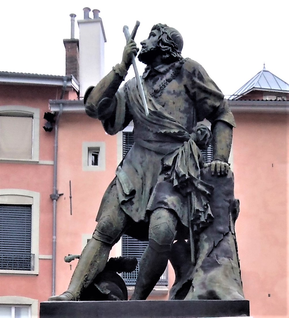 Statue de Bayard (Grenoble) — Wikipédia