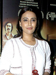 Swara Bhaskar Special screenning of A Death In The Gunj at Lightbox (cropped).jpg