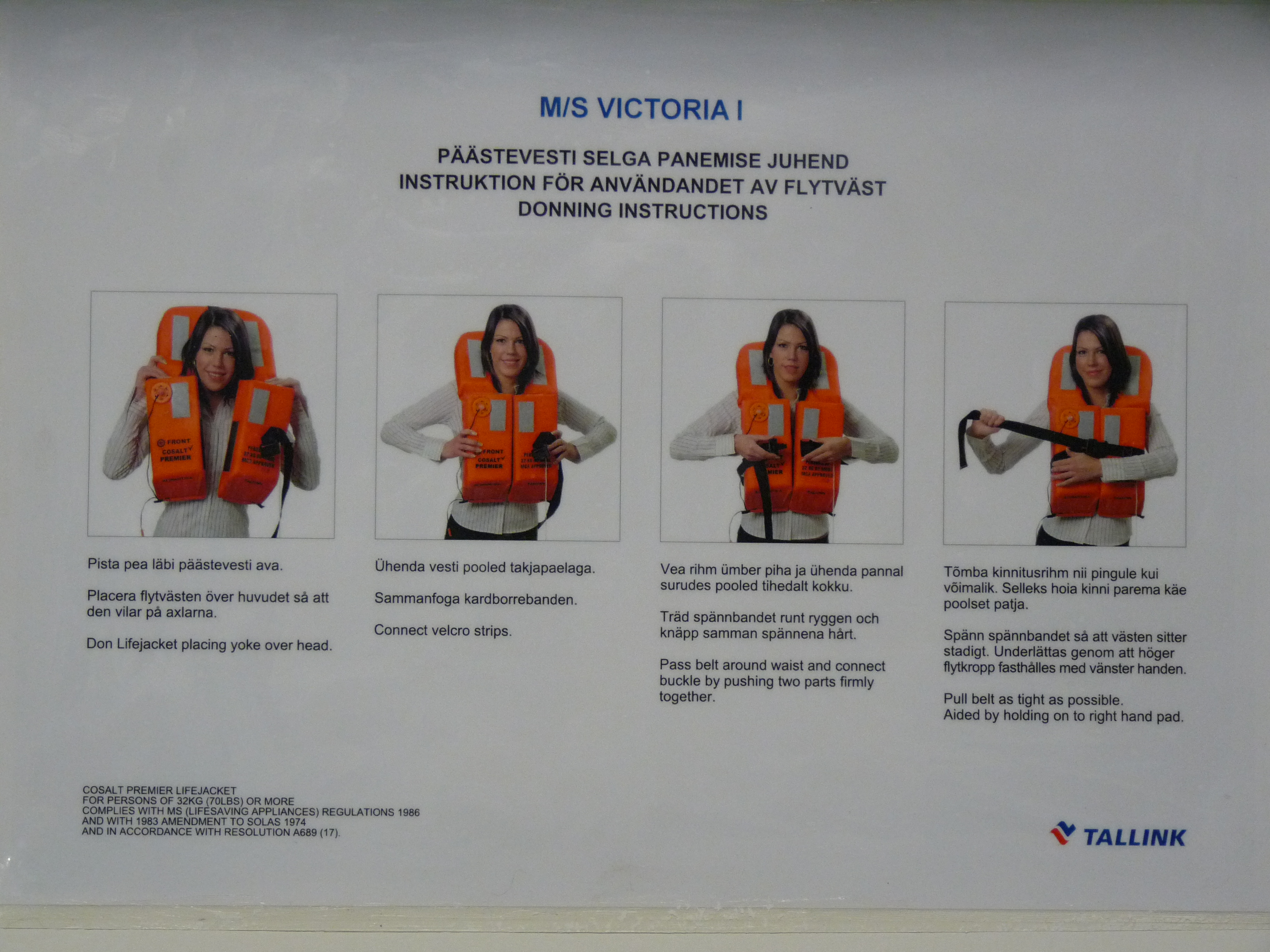 File Tallink Ms Victoria I Emergency Jpg Wikimedia Commons