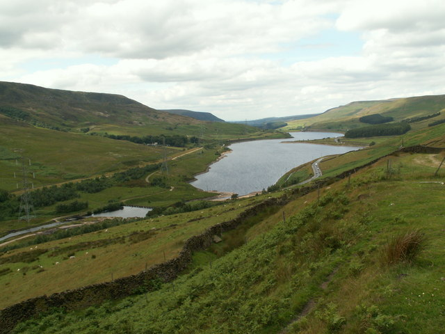 The start of the Woodhead Reservoir - geograph.org.uk - 881811