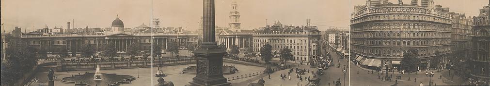 Trafalgar Square, 1908
