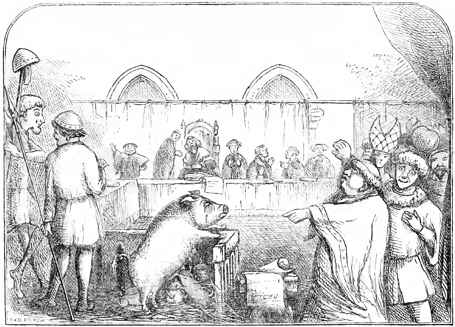 Trial of a sow and pigs at Lavegny.png