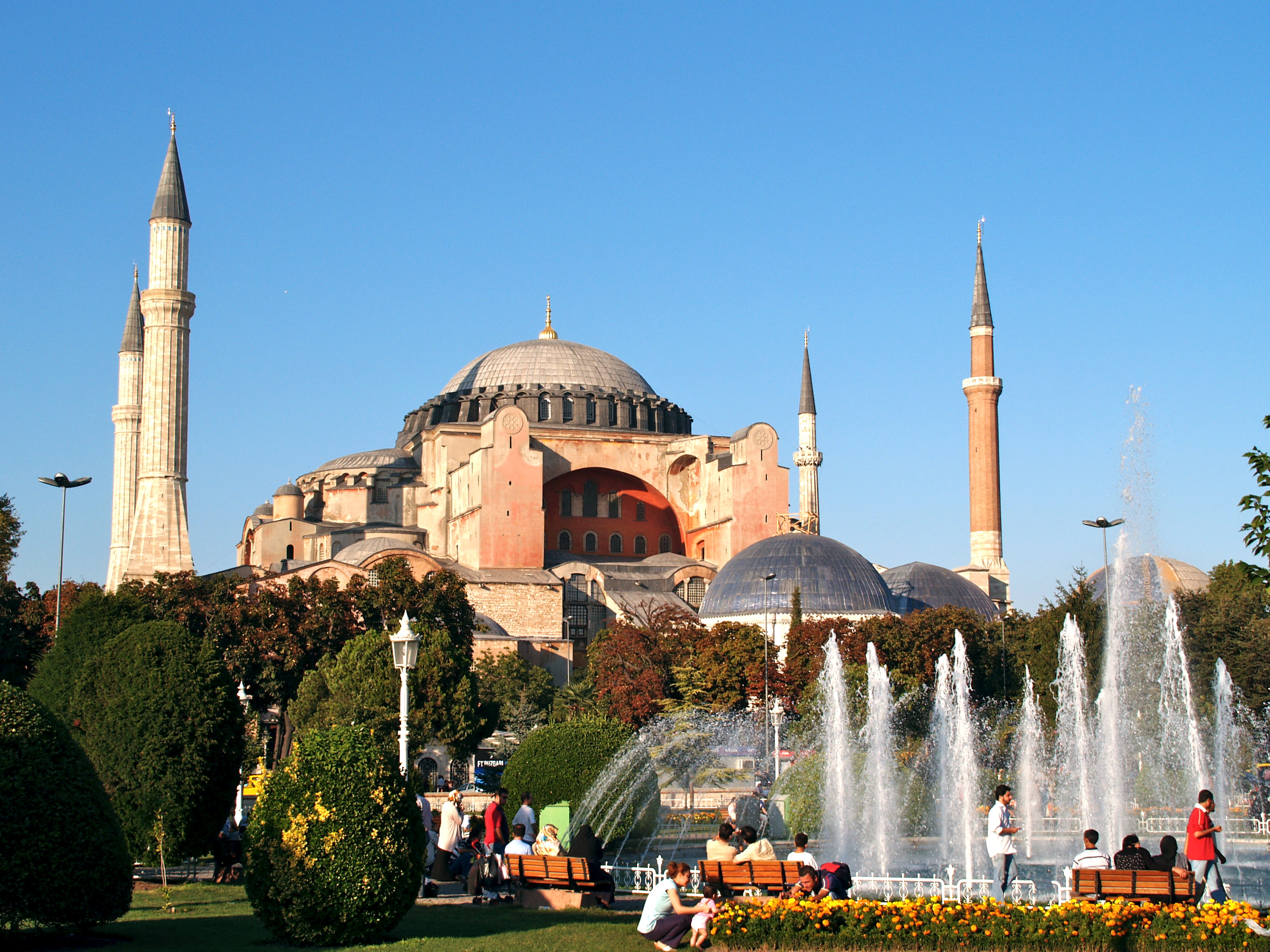 Ficheiro:Turkey, Istanbul, Hagia Sophia (Ayasofya) (3945434964).jpg