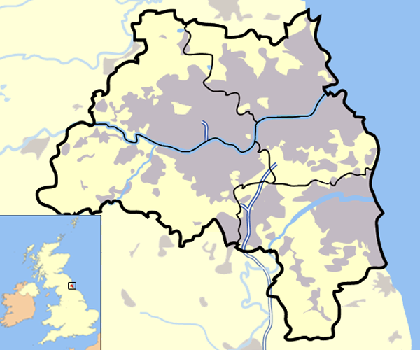 Map Of Uk Newcastle.List Of Sites Of Special Scientific Interest In Tyne And Wear