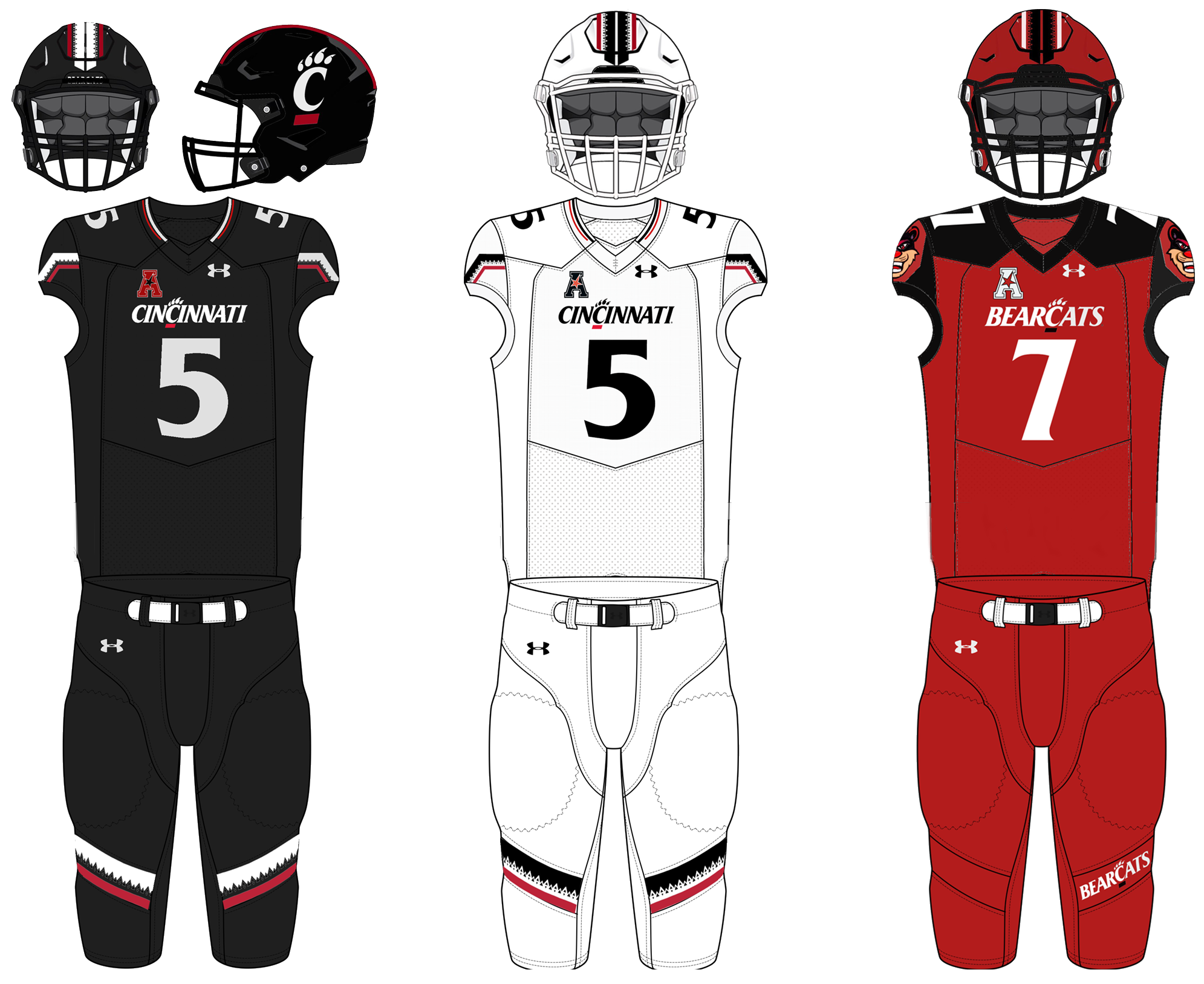 buy online 74955 39dbd Cincinnati Bearcats football - Wikipedia
