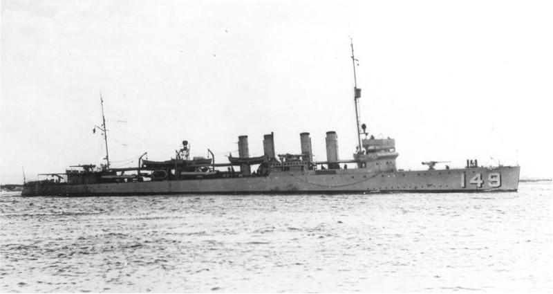 USS Barney (DD-149)