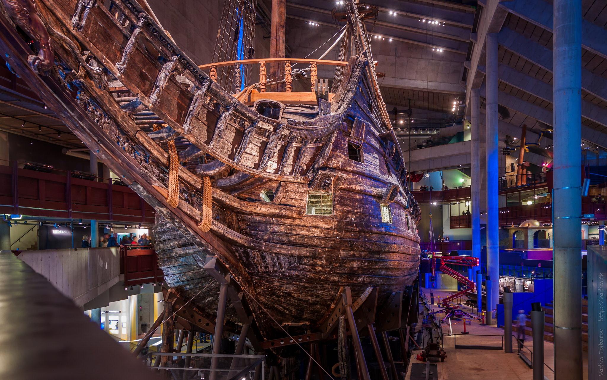 Ваза, музей корабля, 2012 год