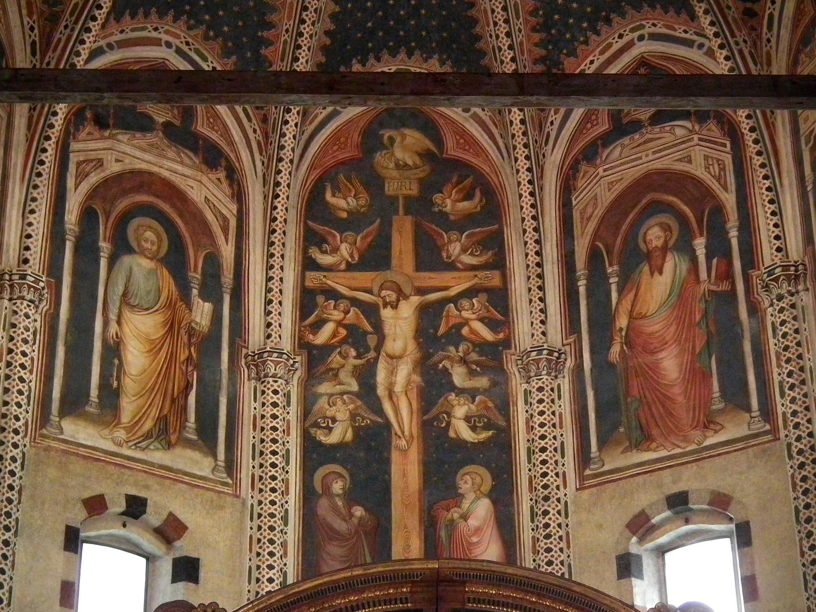 fileverona basilica di san zeno frescos 001jpg
