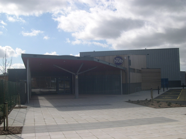 File:Verwood's new Community Centre, 'The Hub' - geograph.org.uk - 364688.jpg