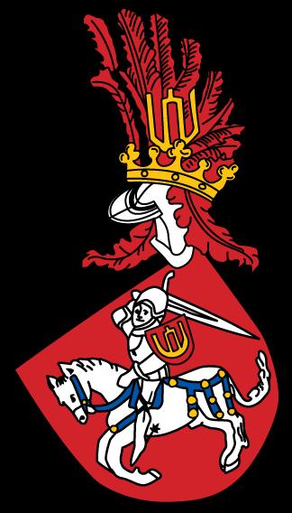 Vaizdas:Vytis COA Lithuania.Codex Bergshammar.png